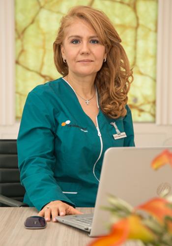 Prof. Univ. Dr. Olga Simionescu - Medic Primar
